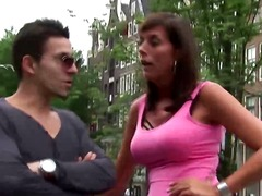Xhamster Movie:Hottest brunette euro hooker f...