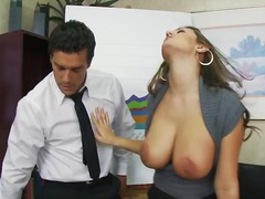 Beautiful secretary ch... video