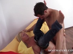 milf, masturbation, hardcore, mature, older, blonde, granny