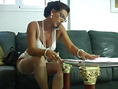 lingerie, mature, masturbation,
