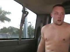 jerking, cumshot, threesome, car