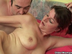 Old woman with big tit... - Xhamster