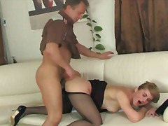 granny, russian, mature, dp, anal,