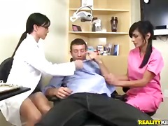 jewels jade,  threesome, cfnm, cock,