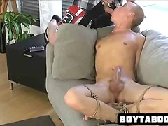 Horny restrained hunk suck... - 05:00