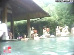 Hot spring bathing club