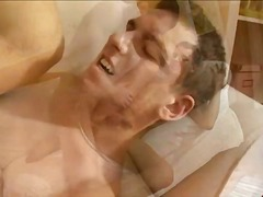 Hot cock licking & bareback screwing