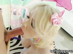 aShemaleTube Movie:Busty shemale sarina valentina...