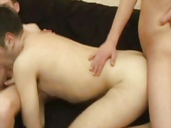 creampie, gape, men, anal, dp,