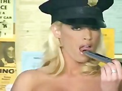 Police officer masturb... video