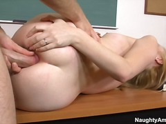 Trainee has anus made ... video