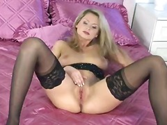 Euro blonde zoe mcdonald with nice