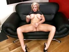 shaved, big, massive, masturbation, work