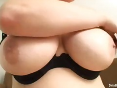 blonde, natural boobs, titjob