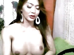 ladyboy, tranny, transsexual, cock, webcam, asian, solo, cam, masturbation, shemale