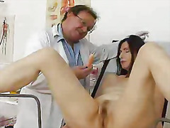 mature, bushy, medical, doctor, old, pussy