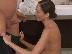 Yobt Movie:A tall massagist close by slea...