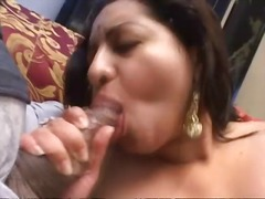 Big indian girl fucked in a great threesome