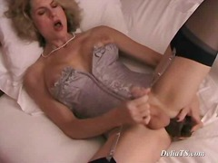 aShemaleTube - Yummy shemale doll in ...