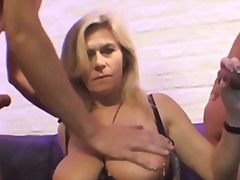 mature, big, threesome, german, boobs