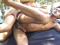See: Busty blonde & guy enj...