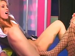 Lesbian stockings and feet... - 19:07