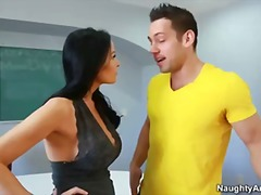 Busty teacher vanilla ... video