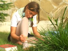 Wetplace Movie:Teen college chick mary loves to