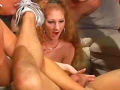 Xhamster - Busty babes strapon a ...