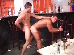 BoyFriendTV Movie:Drunk latinos hunks lavish cum...