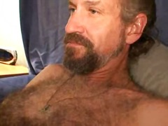 mature, masturbation, solo, hunk,