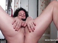 mom, milf, older, hardcore, masturbation