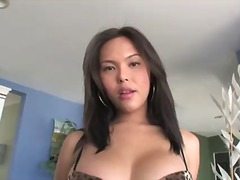 Stacked dark haired sh... video