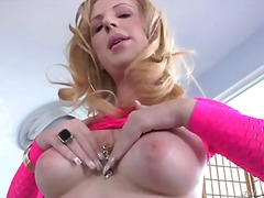 Playful blonde haired ... video