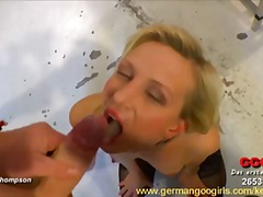 Blonde jessy can suck ...