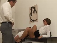 threesome, office, oral