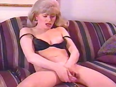 aShemaleTube - Lonely vintage ts milf...