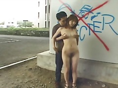 fingering, facial, public, japanese
