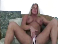 naked, blonde, busty, bigtits, horny,