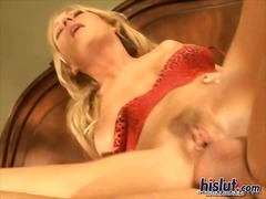 blonde, gape, throat, big ass, lick