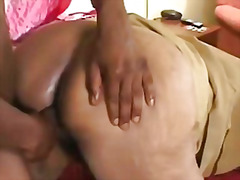 Ebony old grandma help... video