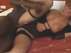 ebony, old, mature, black, cumshot