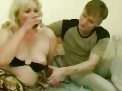 russian, mother, son, housewife, horny