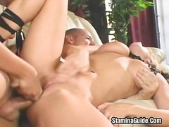 Alpha Porno Movie:Two hot babes share in one hug...