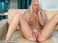 blonde, solo, ass, masturbation,