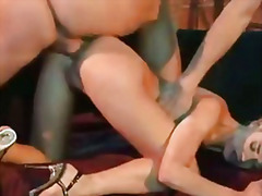 In this mild bdsm scene youll see a blonde chl