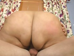 See: Bbw half time anal show