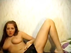 Private Home Clips Movie:Busty GF is pleasuring a lot o...
