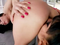 Brunette angelina vale... video