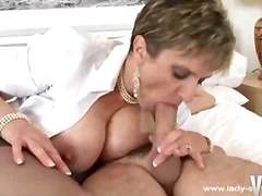 Hot milf sex in stockings - 14:36